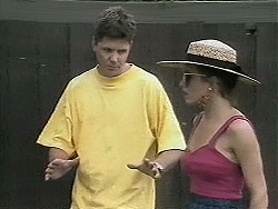 Joe Mangel, Christina Alessi in Neighbours Episode 1133