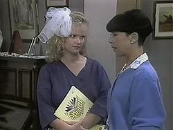 Sharon Davies, Hilary Robinson in Neighbours Episode 1134