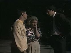 Joe Mangel, Helen Daniels, Policeman in Neighbours Episode 1134