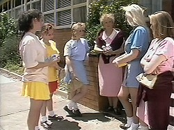 Lisa, Sharon Davies, Sarah in Neighbours Episode 1134