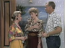 Helen Daniels, Beverly Robinson, Jim Robinson in Neighbours Episode 1134