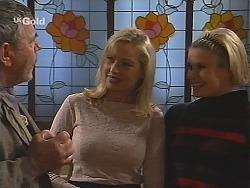 Flakey (Gordon Orchard), Annalise Hartman, Joanna Hartman in Neighbours Episode 2513