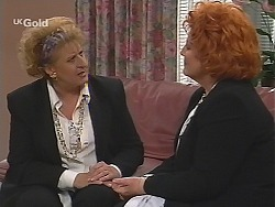 Angie Rebecchi, Cheryl Stark in Neighbours Episode 2514