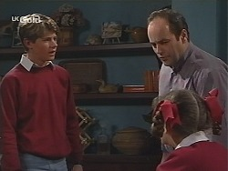 Lance Wilkinson, Philip Martin, Hannah Martin in Neighbours Episode 2514