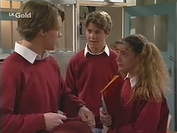 Billy Kennedy, Lance Wilkinson, Hannah Martin in Neighbours Episode 2514