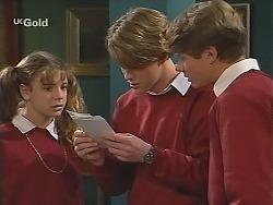 Hannah Martin, Billy Kennedy, Lance Hails  in Neighbours Episode 2514