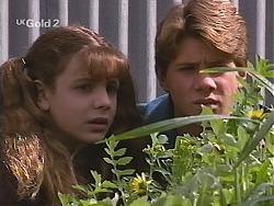 Hannah Martin, Lance Hails in Neighbours Episode 2515