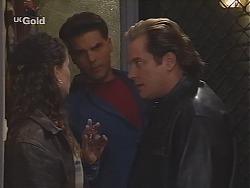 Cody Willis, Mark Gottlieb, Adrian Ewart in Neighbours Episode 2516