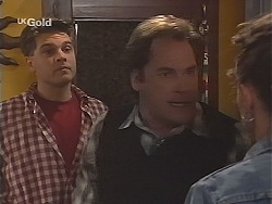 Mark Gottlieb, Adrian Ewart, Cody Willis in Neighbours Episode 2517