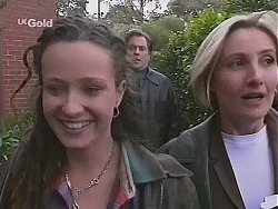 Cody Willis, Adrian Ewart, Jen Handley in Neighbours Episode 2517