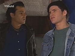 Sam Kratz, Luke Handley in Neighbours Episode 2518