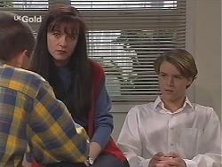 Andrew Watson, Susan Kennedy, Billy Kennedy in Neighbours Episode 2519