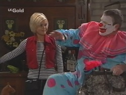 Joanna Hartman, Flakey (Gordon Orchard) in Neighbours Episode 2519