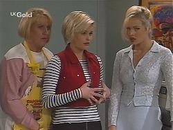 Angie Rebecchi, Joanna Hartman, Annalise Hartman in Neighbours Episode 2519