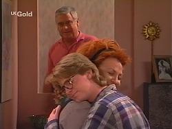 Lou Carpenter, Brett Stark, Cheryl Stark in Neighbours Episode 2520
