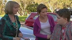 Carmel Tyler, Susan Kennedy, Callum Jones in Neighbours Episode 6551