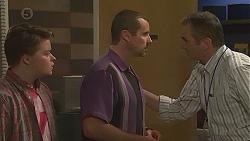 Callum Jones, Toadie Rebecchi, Karl Kennedy in Neighbours Episode 6551