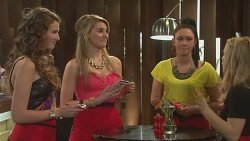 Eloise Russell, Gabby Ross, Michaela Douglas, Natasha Williams in Neighbours Episode 6555