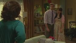 Francesca Villante, Rhys Lawson, Vanessa Villante in Neighbours Episode 6555