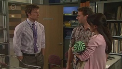 Rhys Lawson, Lucas Fitzgerald, Patrick Villante, Vanessa Villante in Neighbours Episode 6556