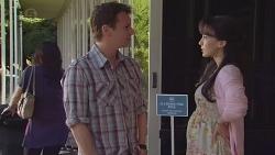 Lucas Fitzgerald, Vanessa Villante in Neighbours Episode 6556