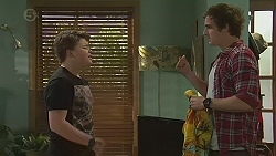Callum Rebecchi, Kyle Canning in Neighbours Episode 6556