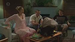 Sonya Mitchell, Toadie Rebecchi, Callum Jones in Neighbours Episode 6556