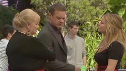 Sheila Canning, Paul Robinson, Natasha Williams in Neighbours Episode 6557