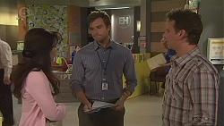 Vanessa Villante, Rhys Lawson, Lucas Fitzgerald in Neighbours Episode 6557