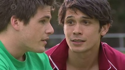 Chris Pappas, Aidan Foster in Neighbours Episode 6558