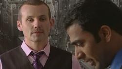 Toadie Rebecchi, Ajay Kapoor in Neighbours Episode 6559