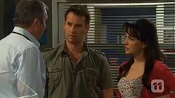 Karl Kennedy, Lucas Fitzgerald, Vanessa Villante in Neighbours Episode 6561
