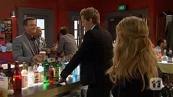 Paul Robinson, Andrew Robinson, Natasha Williams in Neighbours Episode 6561