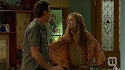 Lucas Fitzgerald, Sonya Mitchell in Neighbours Episode 6561