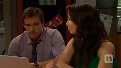 Rhys Lawson, Kate Ramsay in Neighbours Episode 6561