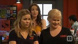 Natasha Williams, Kate Ramsay, Sheila Canning in Neighbours Episode 6563