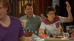 Lucas Fitzgerald, Chris Pappas in Neighbours Episode 6566