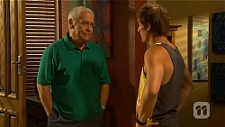 Lou Carpenter, Kyle Canning in Neighbours Episode 6568