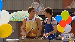 Kyle Canning, Chris Pappas in Neighbours Episode 6568