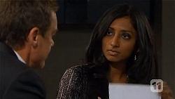 Paul Robinson, Priya Kapoor in Neighbours Episode 6568