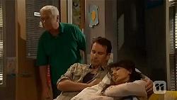 Lou Carpenter, Lucas Fitzgerald, Vanessa Villante in Neighbours Episode 6569
