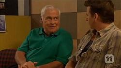 Lou Carpenter, Lucas Fitzgerald in Neighbours Episode 6569