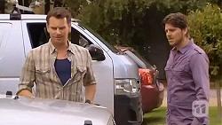 Lucas Fitzgerald, Brett Letson in Neighbours Episode 6569