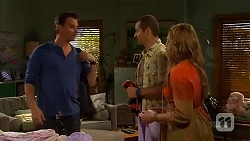 Lucas Fitzgerald, Toadie Rebecchi, Sonya Mitchell in Neighbours Episode 6570