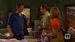 Lucas Fitzgerald, Toadie Rebecchi, Sonya Rebecchi in Neighbours Episode 6570