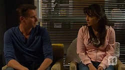 Lucas Fitzgerald, Vanessa Villante in Neighbours Episode 6570