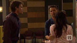Rhys Lawson, Lucas Fitzgerald, Vanessa Villante in Neighbours Episode 6571