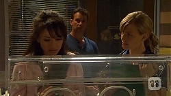 Vanessa Villante, Lucas Fitzgerald, Georgia Brooks in Neighbours Episode 6571