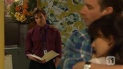 Rhys Lawson, Lucas Fitzgerald, Vanessa Villante in Neighbours Episode 6572