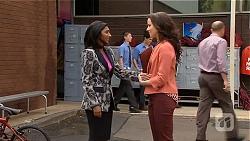 Priya Kapoor, Kate Ramsay in Neighbours Episode 6573